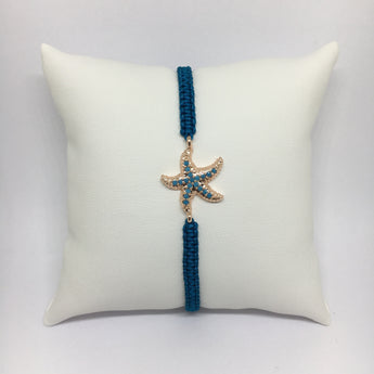 Starfish Bracelet in Turquoise with Turquoise Gemstones