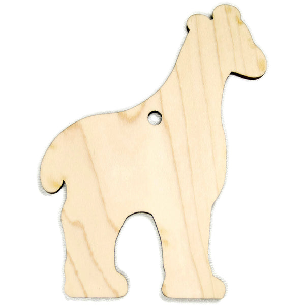 Christmas Ornament Giraffe Christmas Personalized for Babys First Christmas - Little Wooden Wonders