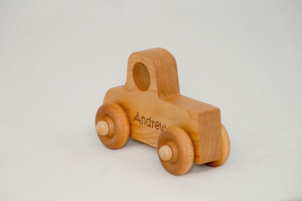 Wooden Toy Pickup Truck - Truck - Personalized - Handmade Montessori Toy