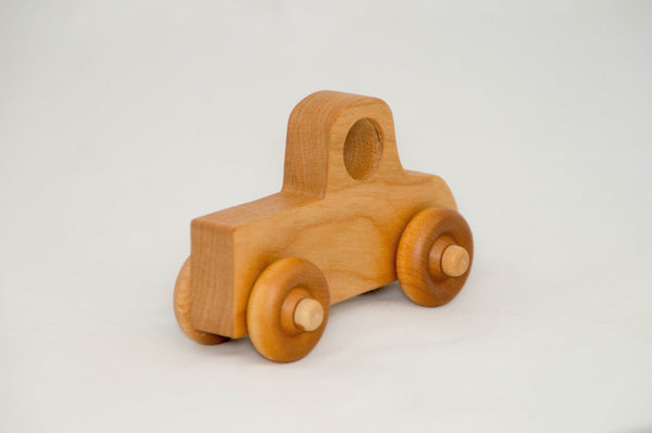 Wooden Toy Pickup Truck Toy Car for Children