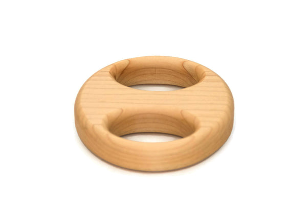 Wooden Baby Rattle - Little Wooden Wonders