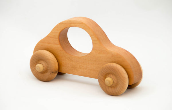 Wooden Toy Car, Push Car Toy for Children - Little Wooden Wonders