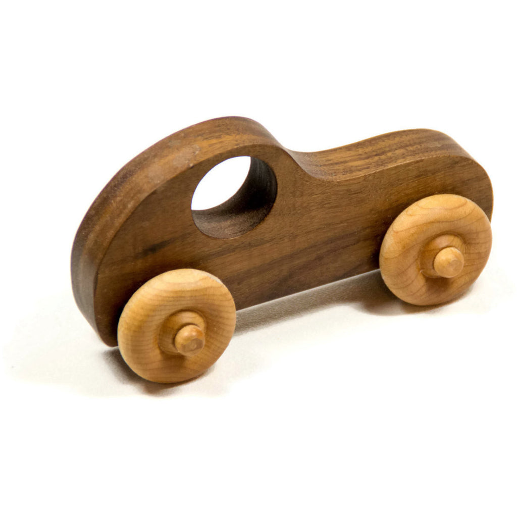 wooden toy car personalized toy car race car push toy for kids children