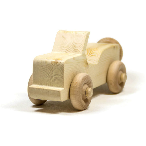 Wooden Toy Car Personalized Toddler Toy Children's Car - Little Wooden Wonders