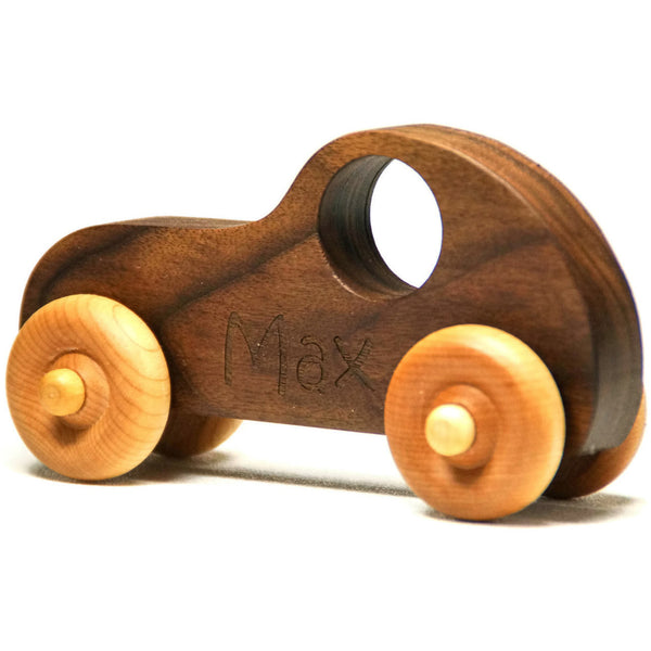Wooden Toy Car Personalized Toy Car Race Car Push