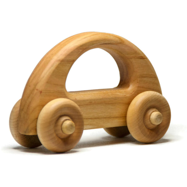 Wooden Toy Car, Wood Car, Toddler Toy Car, Personalized Gift Toy for Babies, Toddlers and Preschool - Little Wooden Wonders