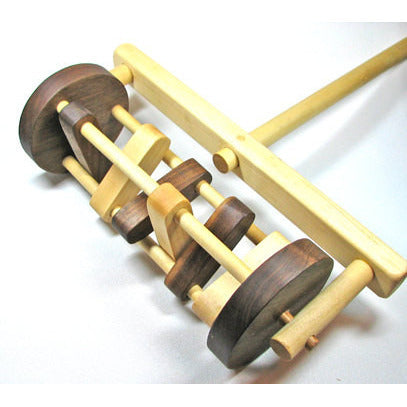 Wooden Toy Lawn Mower, Wooden Toy Mower, Push Toy Lawn Mower, Lawn Mower Toy for Children and Toddlers Eco Friendly All Natural - Little Wooden Wonders