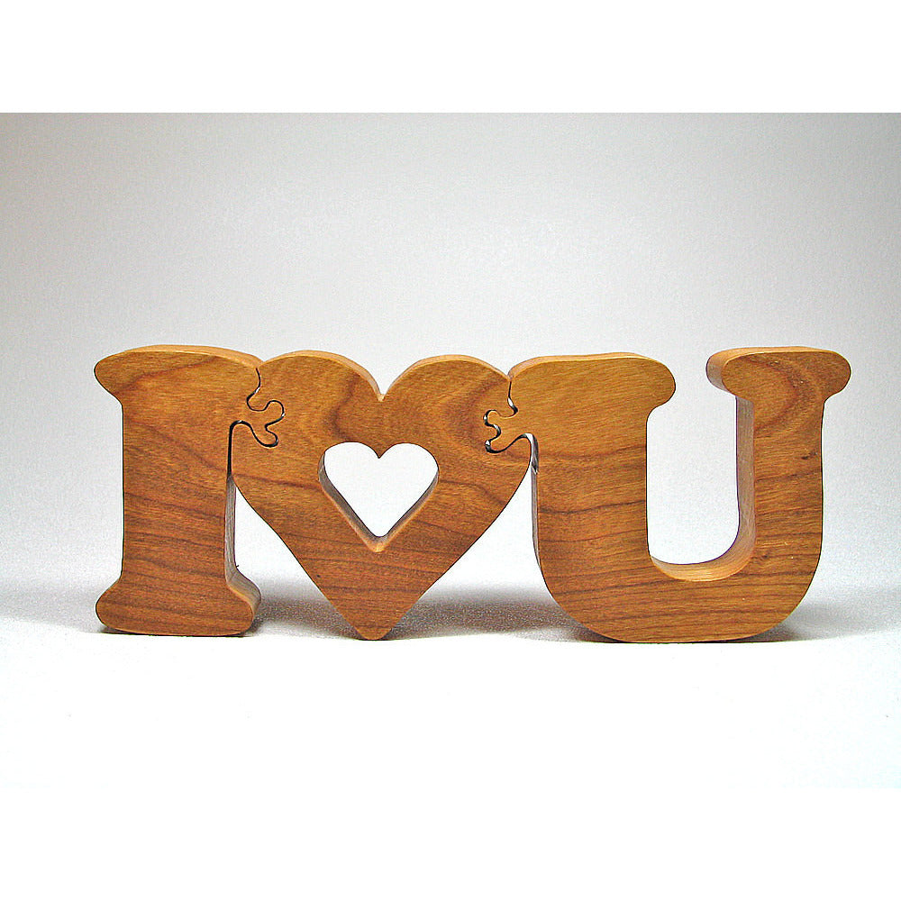Wooden Puzzle for Mothers Day, Valentines, Christmas, or Wedding - Little Wooden Wonders