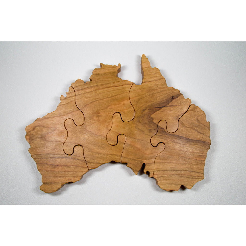 Custom Country Puzzles - Australia - Any Country - Little Wooden Wonders