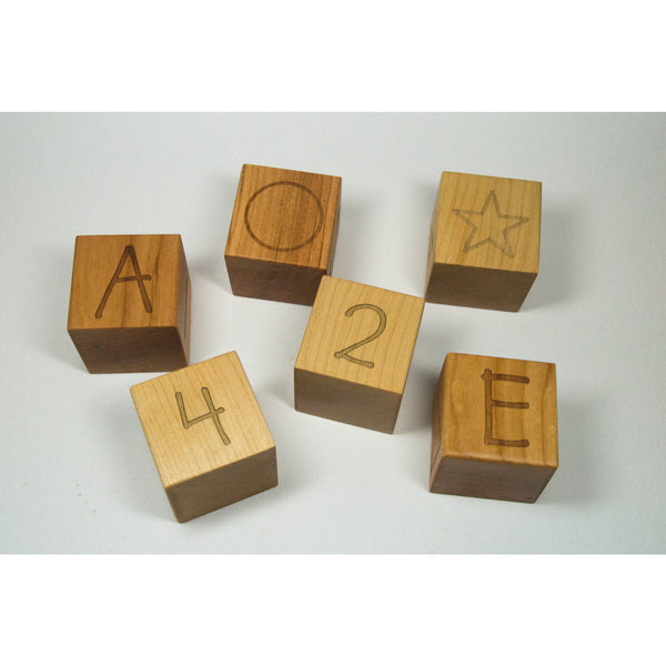 Personalized Wooden Name Letter Blocks - Custom Blocks - Little Wooden Wonders
