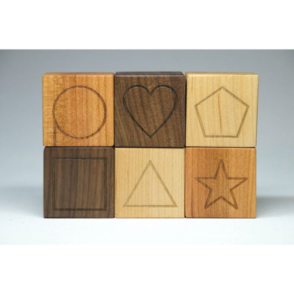 Personalized Wood Name Blocks - Custom Letter Blocks - Little Wooden Wonders
