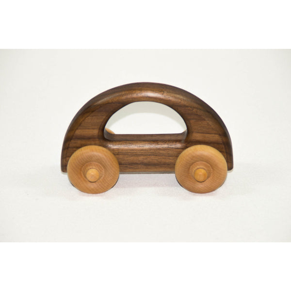 Wooden Toy Car - Personalized Push Toy for Babies, Toddlers and Preschool - Little Wooden Wonders