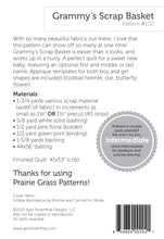 Load image into Gallery viewer, #102 - Grammy's Scrap Basket PDF Pattern