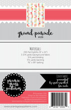 Load image into Gallery viewer, #139 - Grand Parade PAPER Pattern