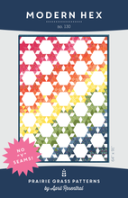 Load image into Gallery viewer, #130 - Modern Hex PDF Pattern