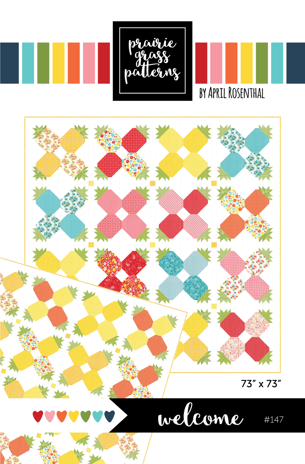 #147 - Welcome PDF Pattern