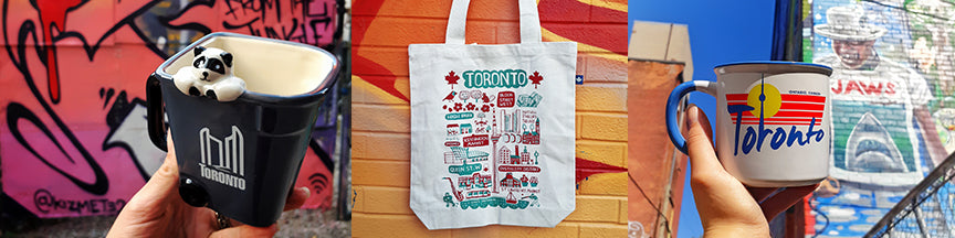 Toronto souvenirs and gift shop, The Outer Layer collection