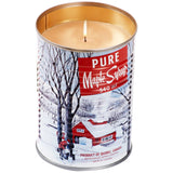Maple Syrup Tin Candle Wood Wick