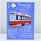 Toronto Streetcar Card by Wendy Tancock