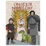 On Your Name Day Birthday Card
