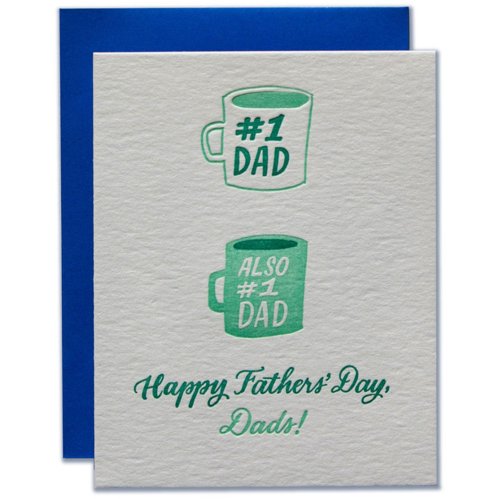 #1 Dads Father's Day Card