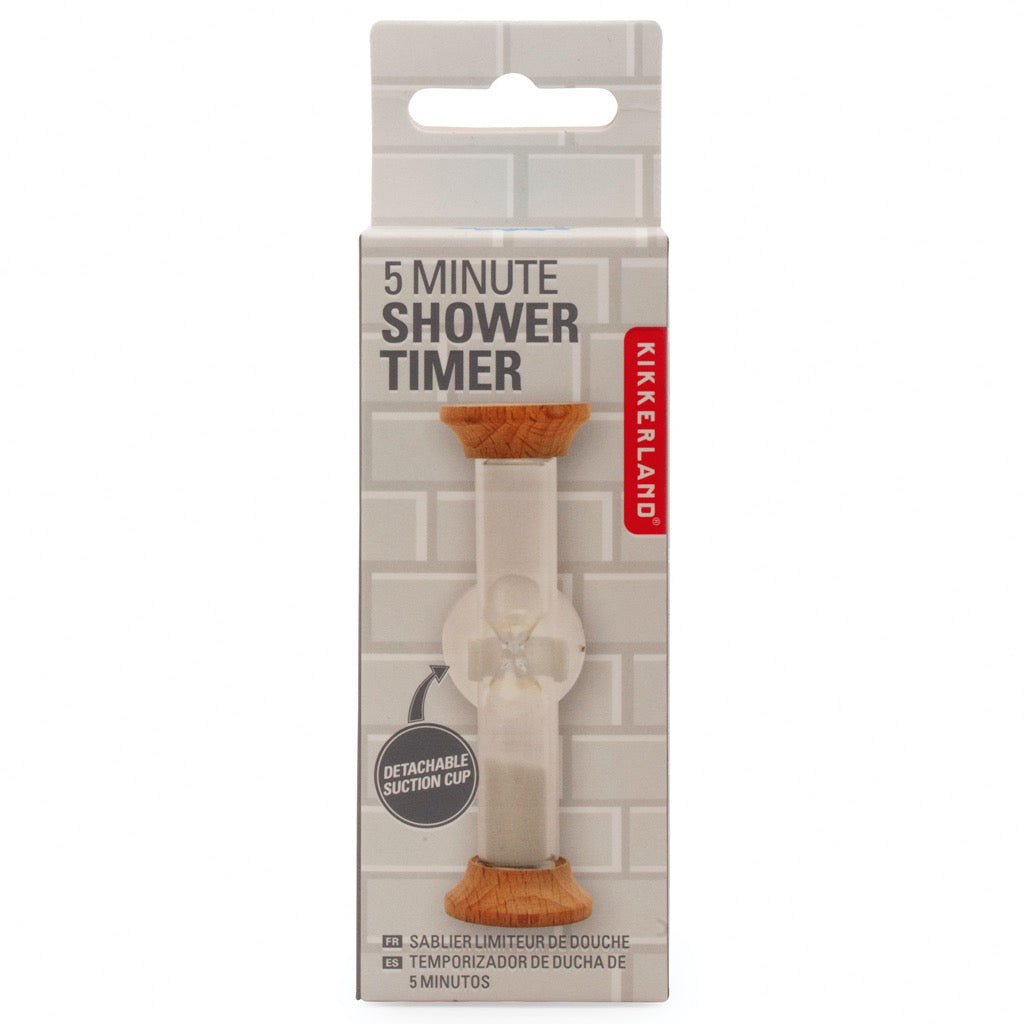 5 Minute Shower Timer Packaged