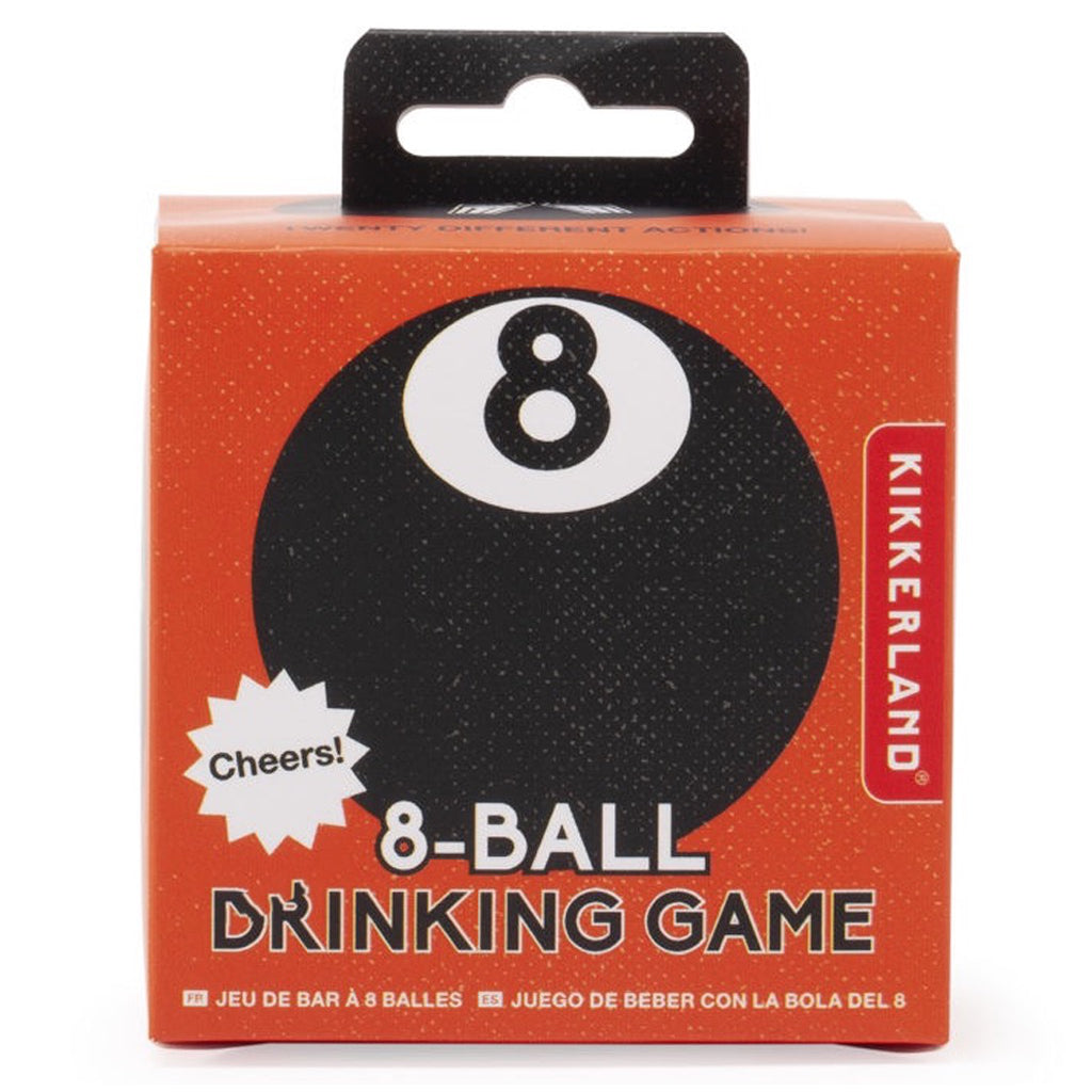 8 Ball Drinking Game In Box