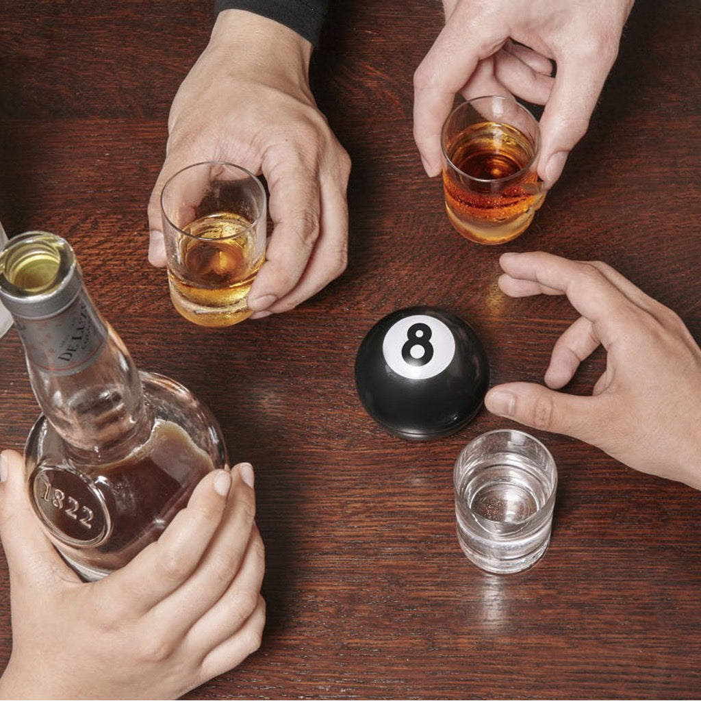 8 Ball Drinking Game In Use