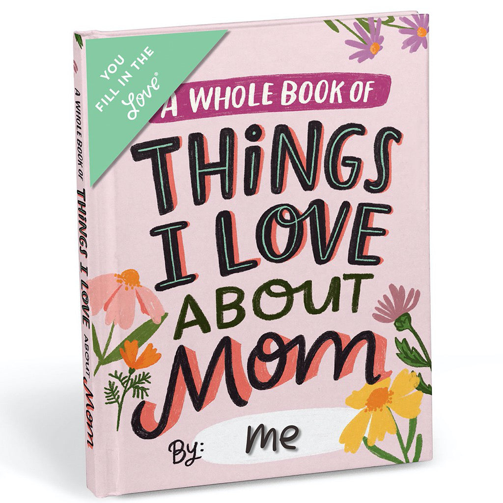 About Mom Fill In Notebook