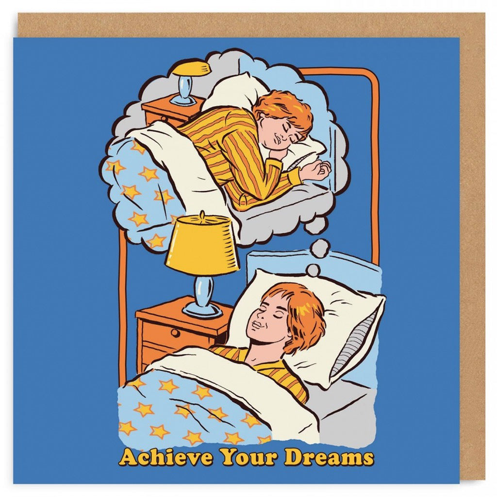 Achieve Your Dreams Card