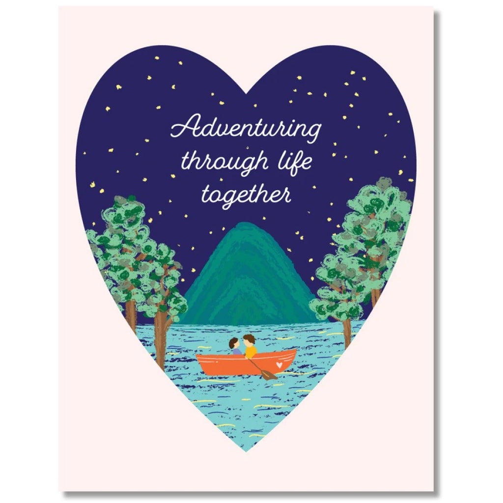 Adventuring Through Life Together Card