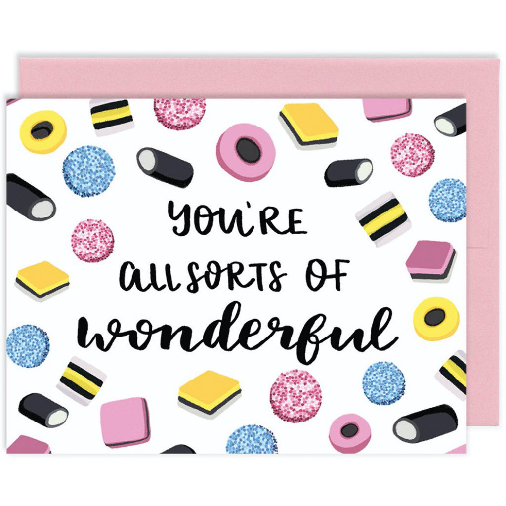 Allsorts of Wonderful Card