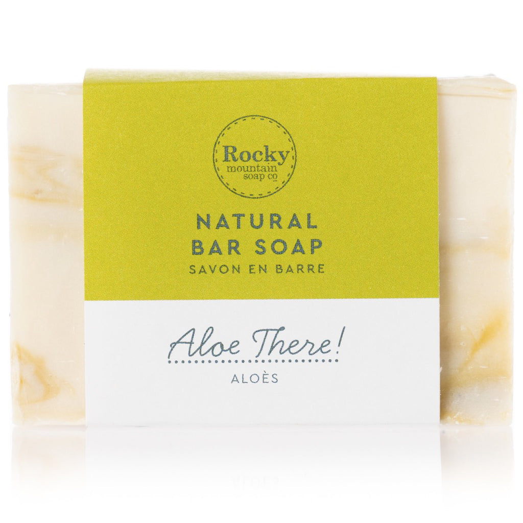 Aloe There Natural Bar Soap