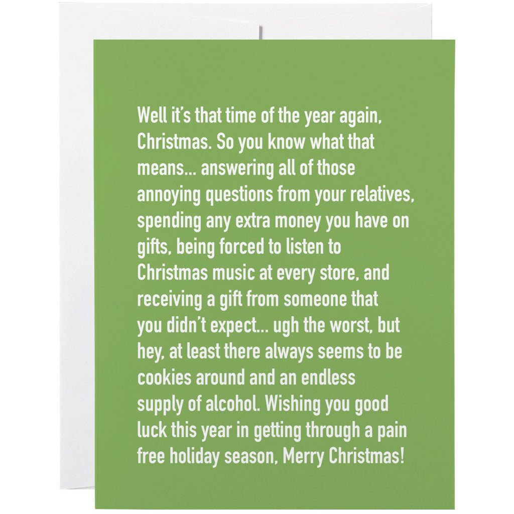 Annoying Christmas Card