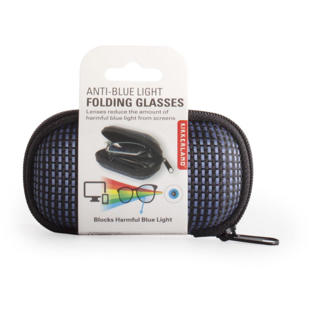 Anti-Blue Light Folding Glasses Packaged