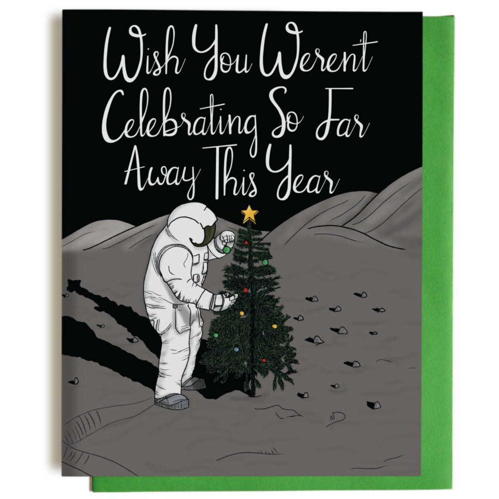 Astronaut Christmas Card