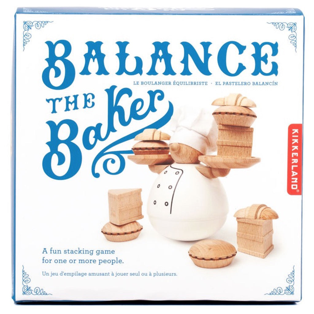 Balance The Baker Stacking Game In Package