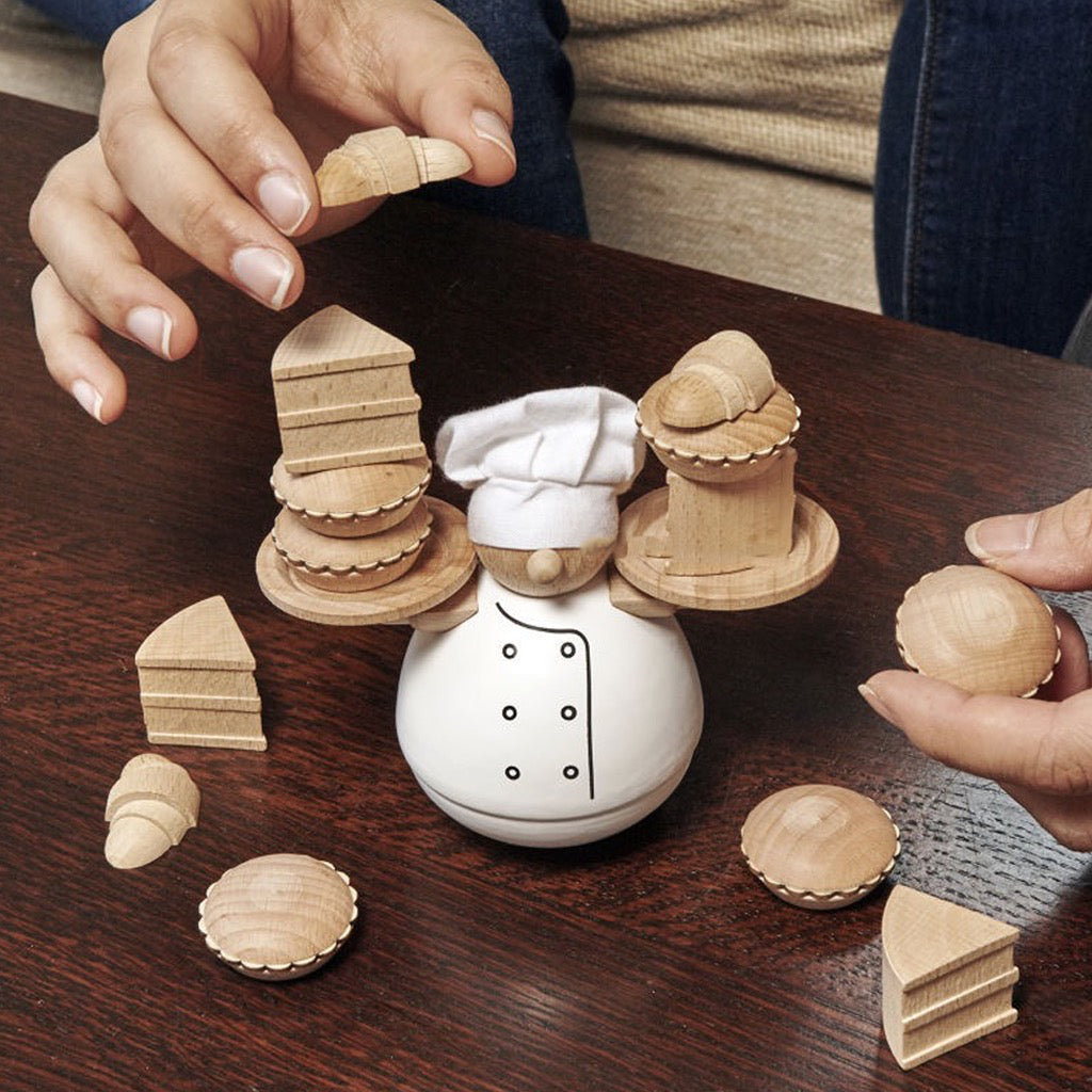Balance The Baker Stacking Game In Use