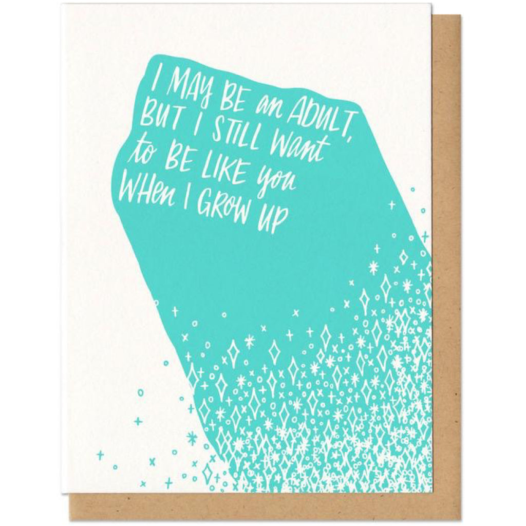 Be Like You When I Grow Up Card