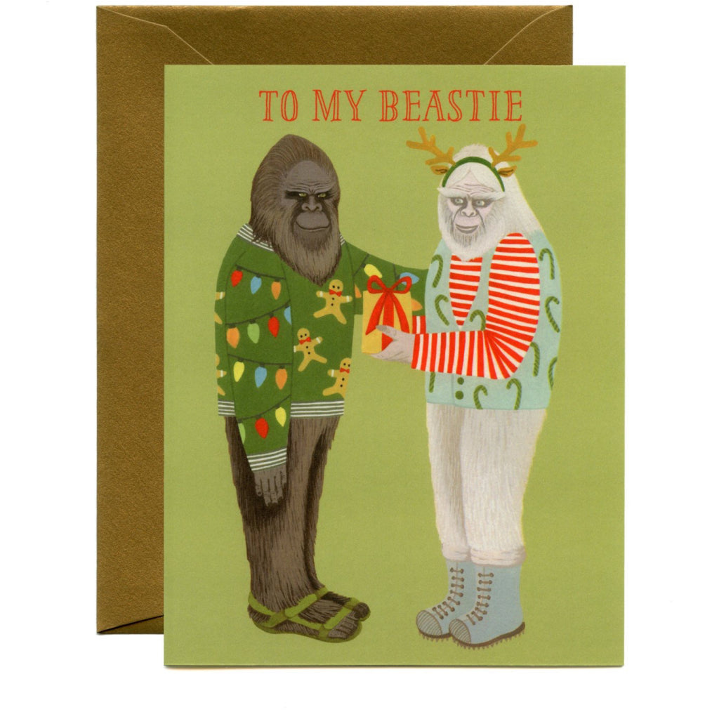 Beastie Holiday Card