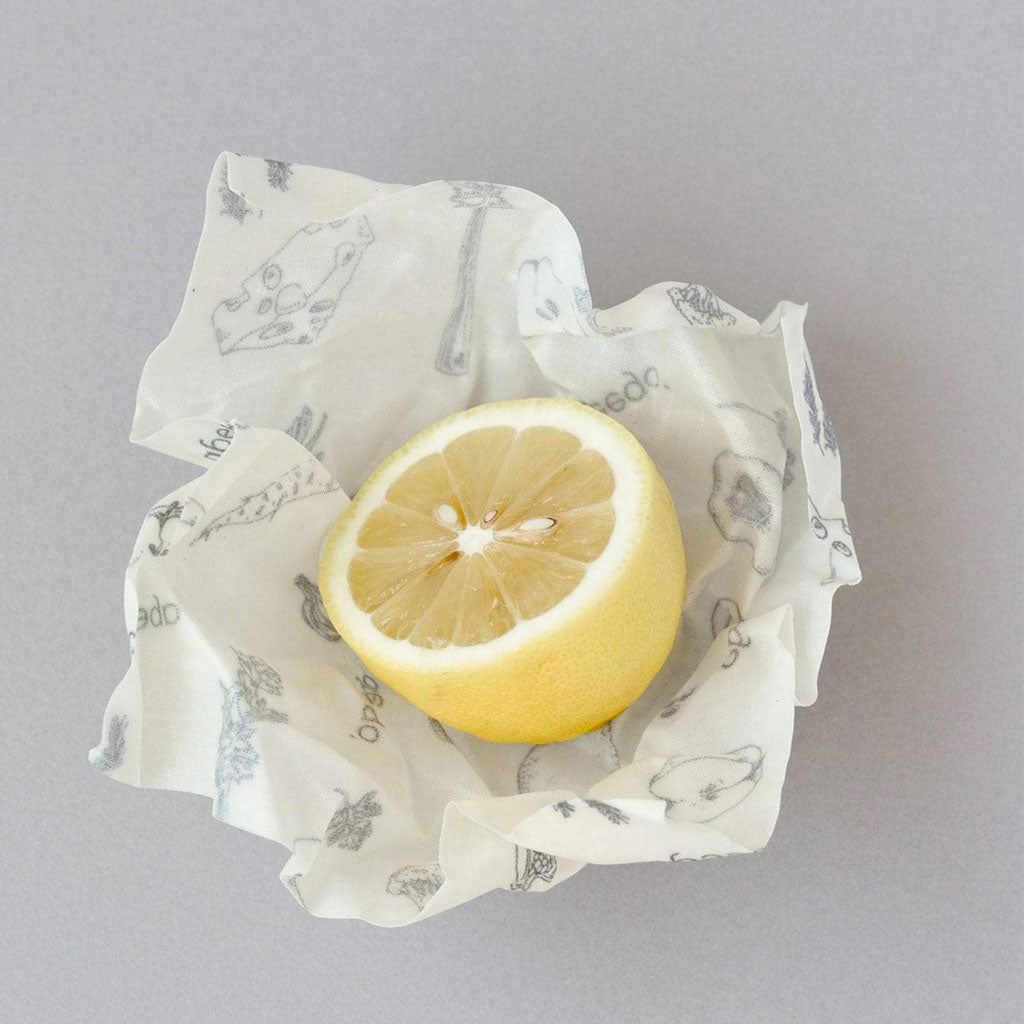 Beeswax Food Wrap - Small Size Pack of 6 Open