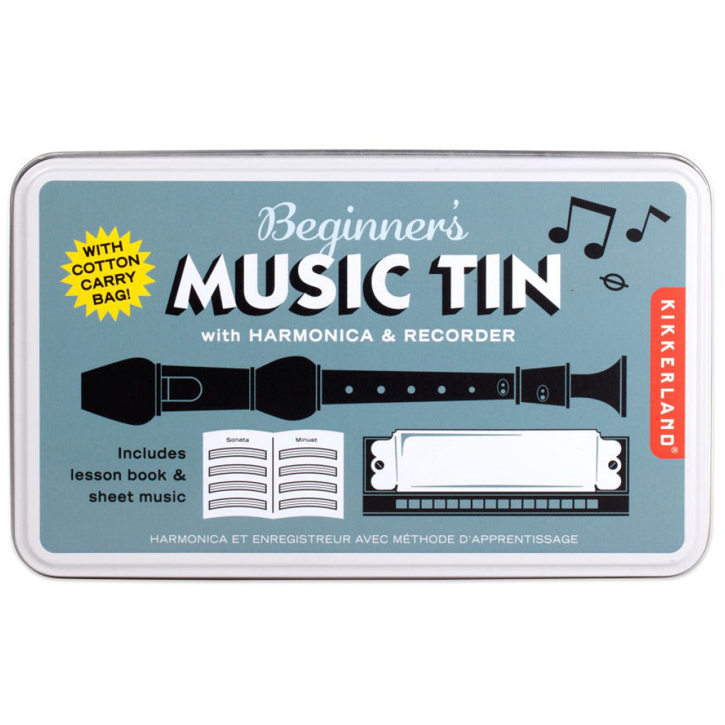 Beginner's Music Tin In Box