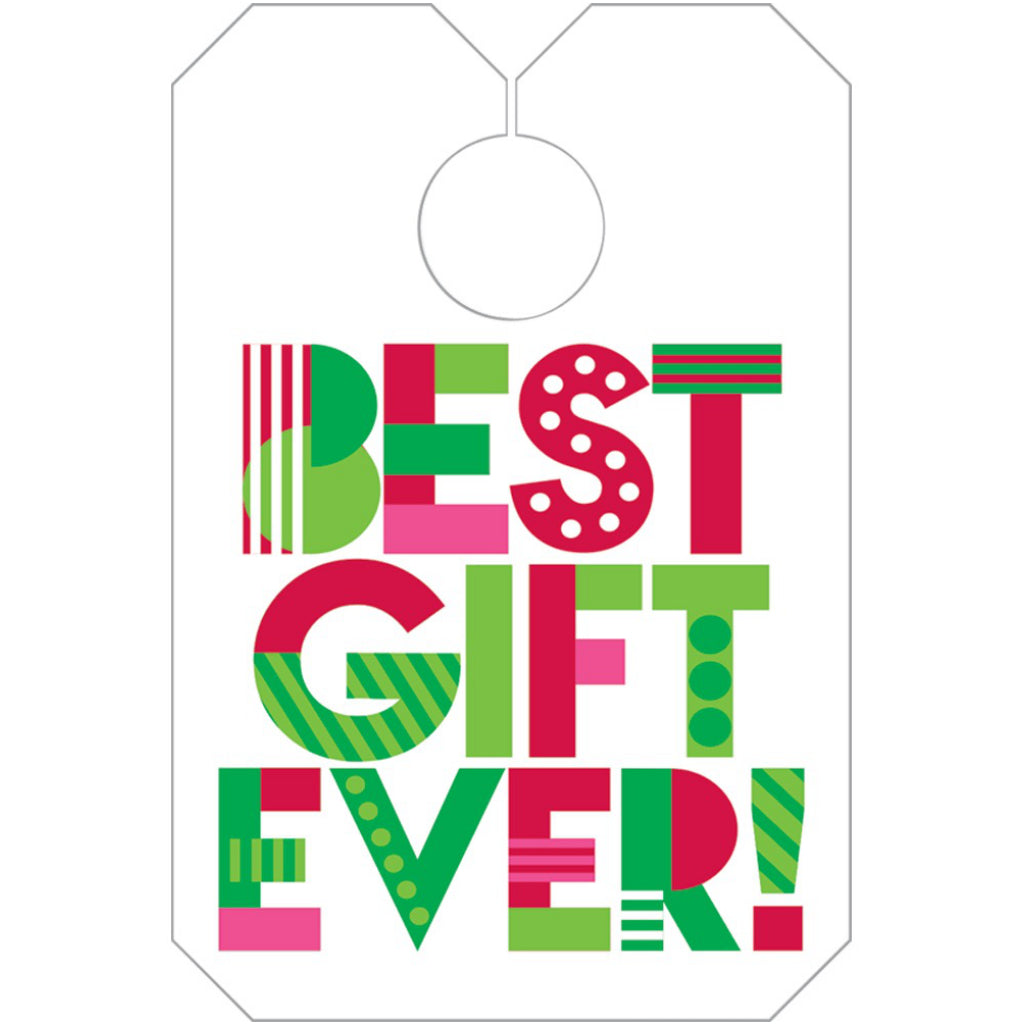 Best Ever Gift Bag Tags
