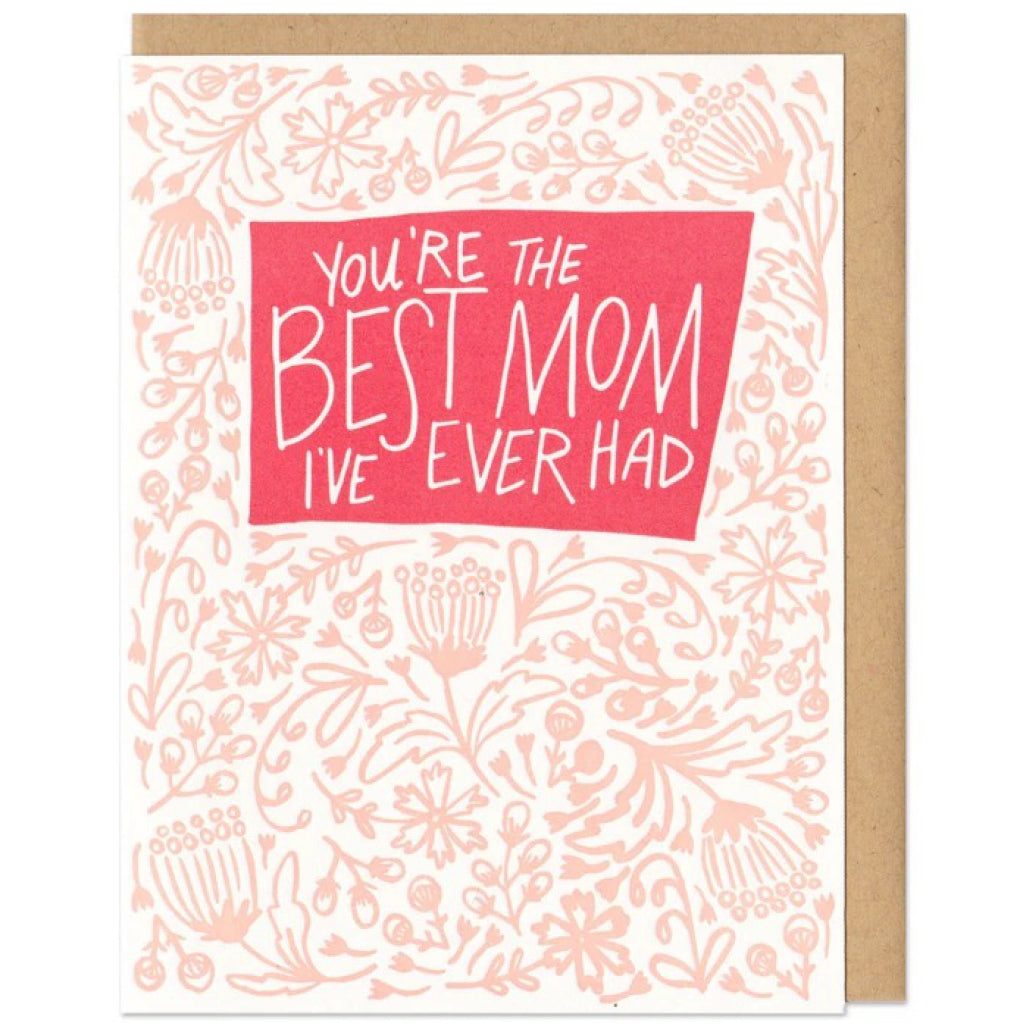 Best Mom I've Ever Had Card
