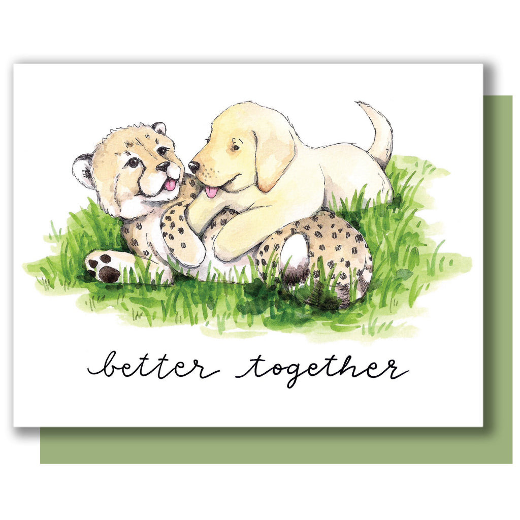 Better Together Animals Card