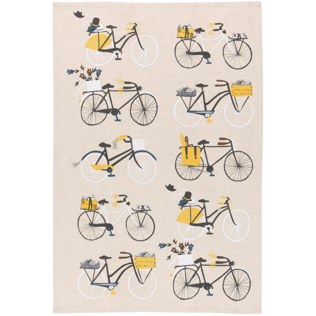 Bicicletta Tea Towels Second Towel
