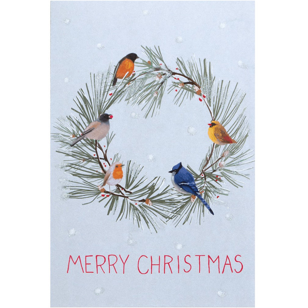 Birds All Around Boxed Christmas Cards
