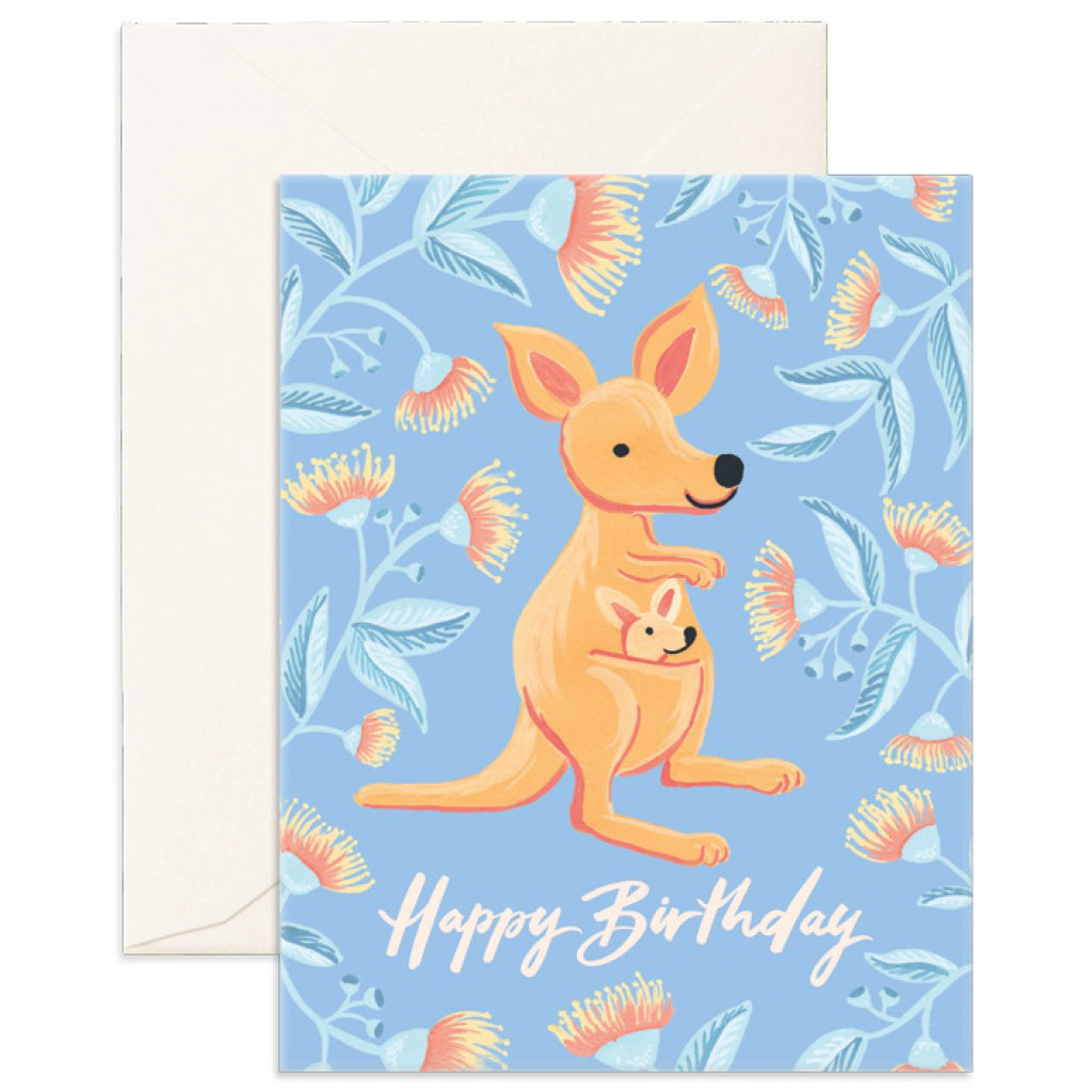 Birthday Kangaroo Card
