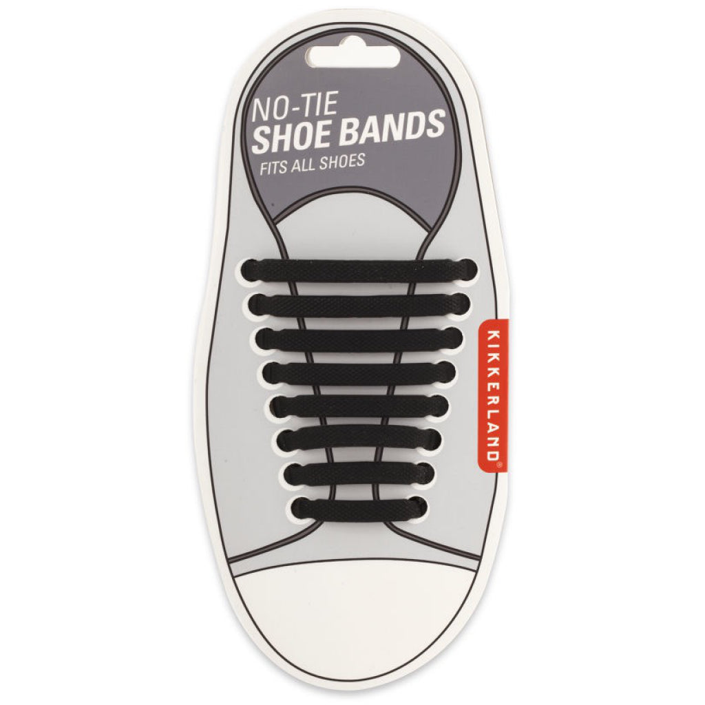 Black No-Tie Shoe Bands Packaging