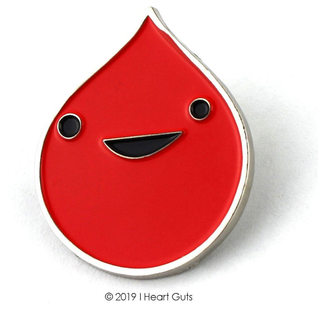 Blood Lapel Pin
